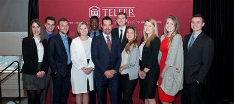 Telfer Mba Employment Report by Yersh Bcom 1996 Donation To Fund Pedagogical