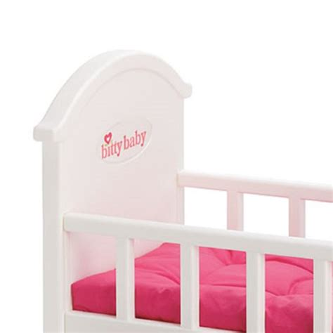 bitty baby bed american girl bitty baby pink crib bedding for doll new ebay