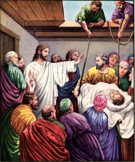 jesus heals the paralytic children s church