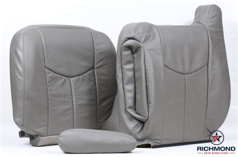 silverado leather seat covers oem 2003 2007 chevy silverado lt ls z71 leather seat covers