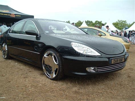peugeot 607 tuning auto car tuning styling black peugeot 607 tuned