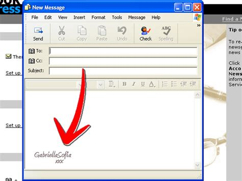 how to create a signature with pictures in outlook express