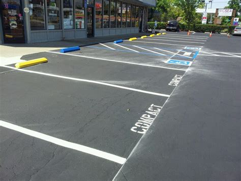 Parking Lot Striping Stencils Bumpers Repairs A A Restriping Parking Lot Striping Templates