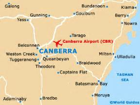 Canberra World Map canberra maps and orientation canberra australian