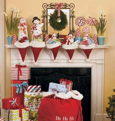 ways to decorate a santa hat fireplace decorating ideas mr fireplace