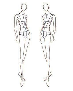 mannequin design template trashion aotearoa