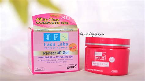 review hada labo perfect  gel ultimate moisturizing lotion