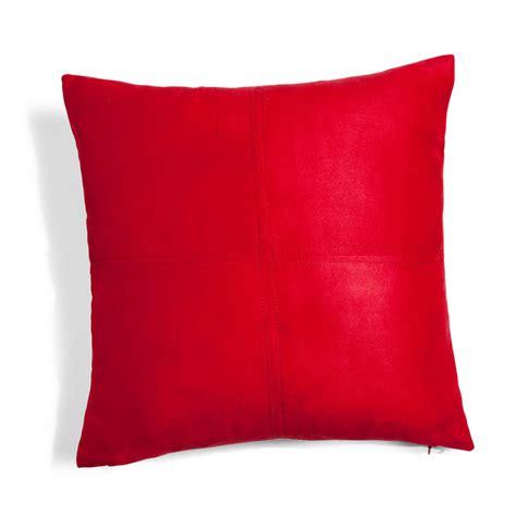 cuscino rosso cuscino rosso 40 x 40 cm swedine maisons du monde