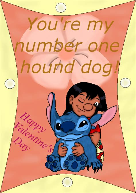 lilo and stitch valentines day cards lilo and stitch v day card by inuranchan on deviantart