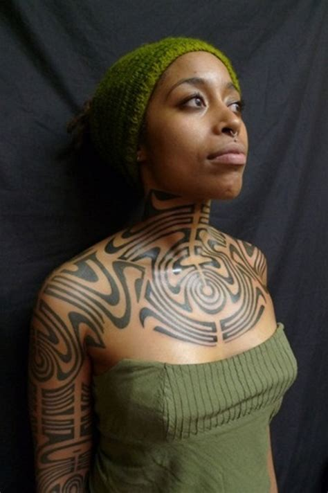 nigerian tribal tattoos 12 magnificent tribal tattoos only tribal