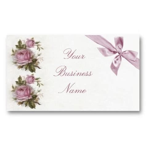 free shabby chic business card templates 20 best images about shabby chic business cards on