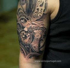 biomechanical tattoo step by step biomechanical tattoos design amazing detail tattoos