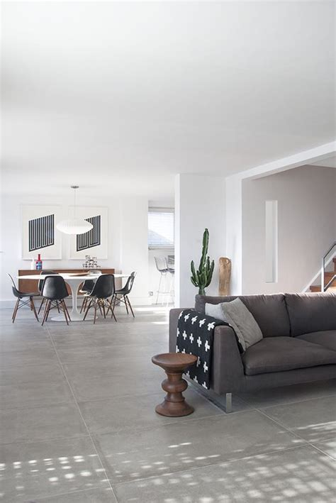 grey tile living room grey scandinavian style and eames on pinterest