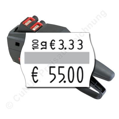 Etiketten Contact by Grundpreis Auszeichner F 252 R 22x16mm Etiketten Contact