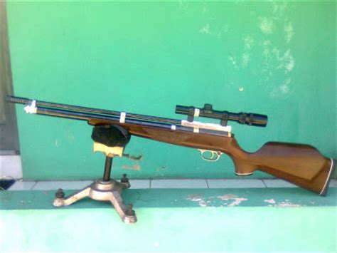 air rifle and match