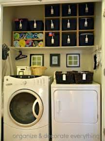 Orgnize by Organized Space Of The Week Laundry Closet A Bowl Full