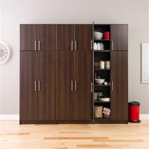 espresso elite 32 storage cabinet prepac elite 32 stackable espresso wall cabinet walmart