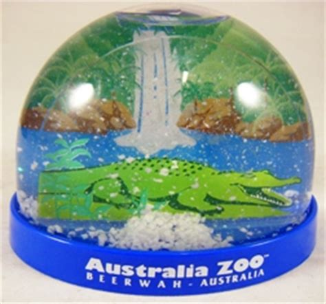 australia zoo online shop crocodile snow dome