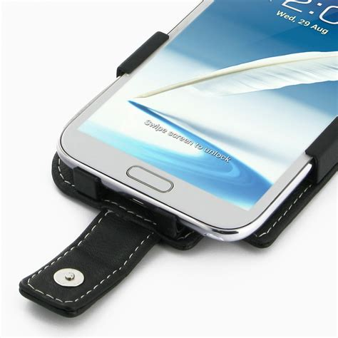 samsung galaxy note 2 leather flip case cover pdair