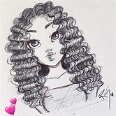 easy-drawing-of-a-girl-with-curly-hair