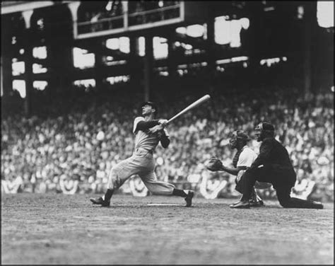 joe dimaggio swing how to hit a baseball with authority and power