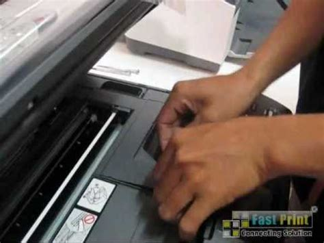 error brother dcp j125 printer ink absorber full signal cara bongkar mengganti ink absorber dan sensor kertas