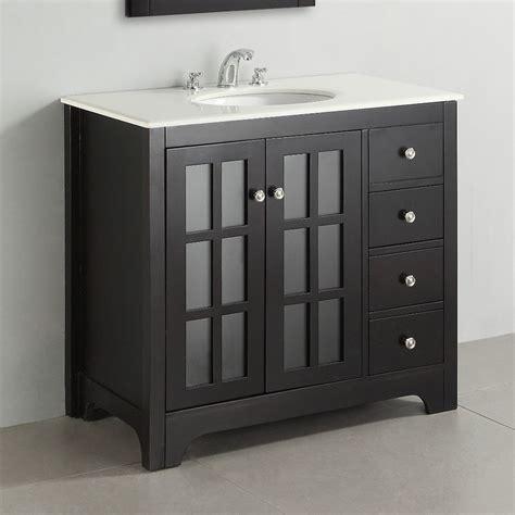 Fancy bathroom vanities lowes design darkwood material white marble