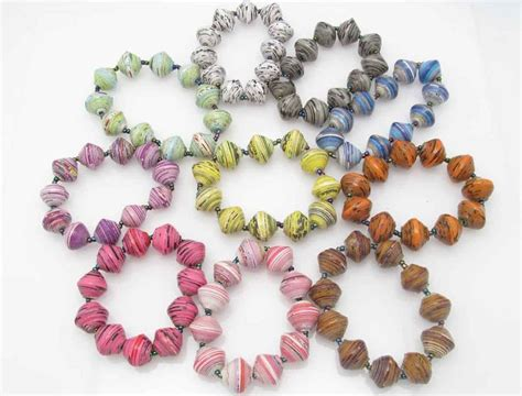 paper bead crafts 3675 best paper jewelry images on