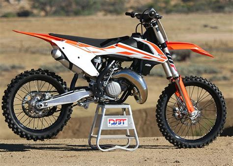 Ktm 125 Sxf 2017 Ktm 125 And 150 Sx Ride Impression Dirt Bike