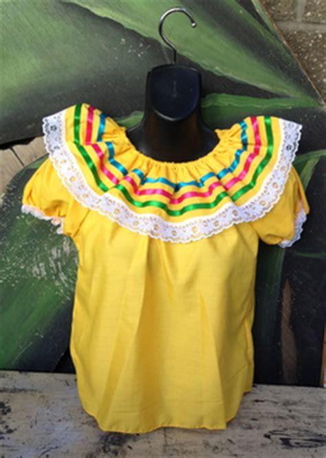 Bl Olan Blouse blusas blouses casa folklorica