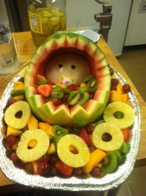Baby Shower Fruit Basket by Baby Fruit Basket Baby Shower