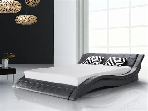 Bett 100x200 Schwarz by Wellenf 246 Rmiges Designer Echtleder Bett Polsterbett Quot