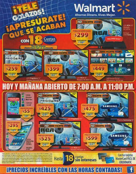 WALMART Horario especial TELE GOLAZOS ofertas y precios ... Horario Walmart