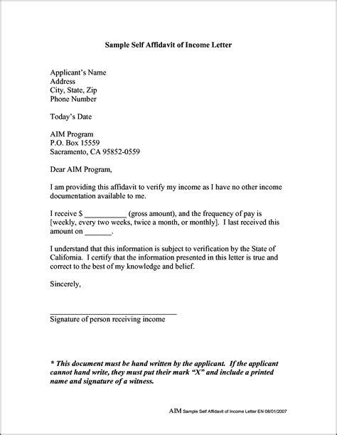 affidavit sample bidproposalform com