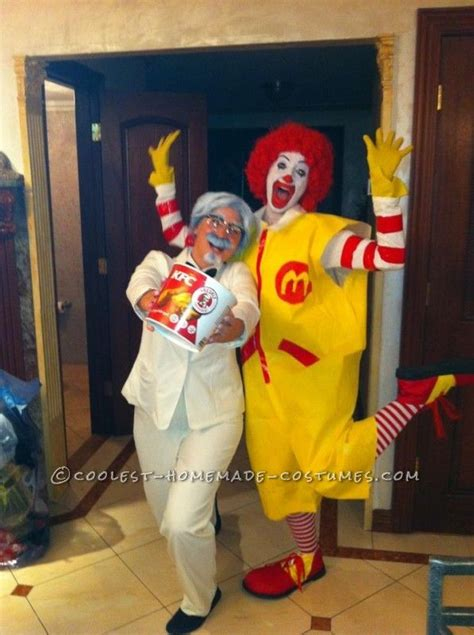 Coolest Handmade Costumes - 1000 ideas about ronald mcdonald costume on