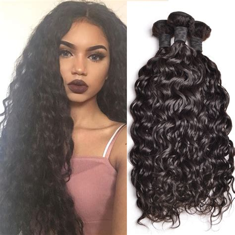 good wet and wavy human hair peruvian curly weave human hair bundles peruvian curly