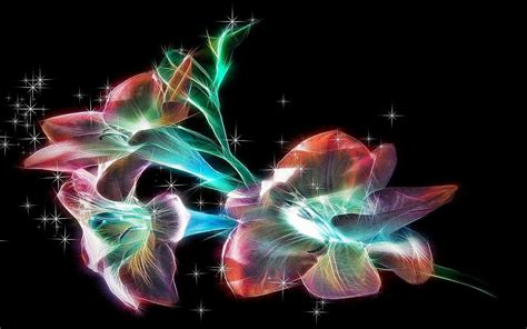 glitter wallpapers of flowers image gallery sparkly flowers