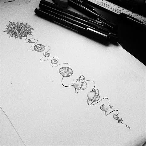 tattoo pen hobby line solar system for millie tattoodesign dotwork stippling