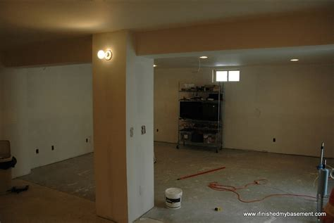 installing drywall in my finished basement i finished my