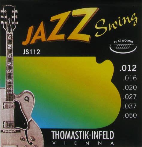 thomastik infeld jazz swing thomastik infeld electric guitar steel nickel flat wound