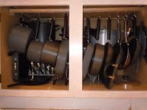 Organize Pots And Pans In Cabinet Organized Pots And Pans In My Kitchen For Rdj