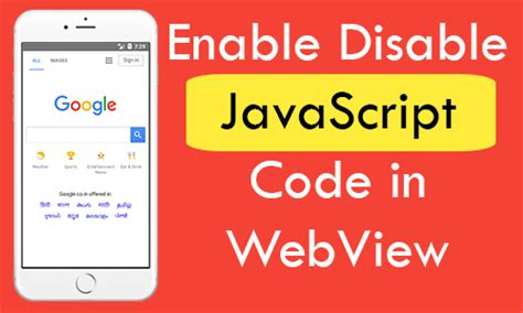 react native webview tutorial how to enable disable javascript code in webview react native