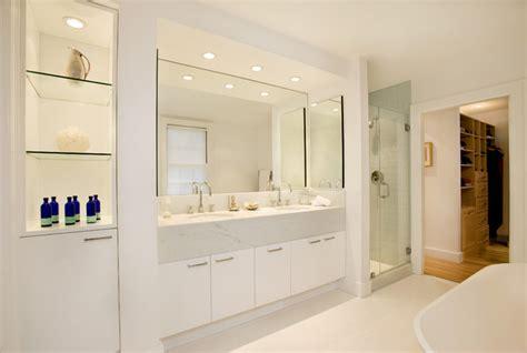 Spa Bath In 1915 Colonial Modern Bathroom Boston Modern Bathroom Houzz