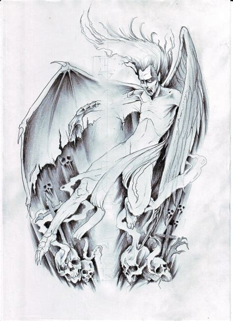 angel and demon tattoo drawings angel and demon tattoo drawings www imgkid com the