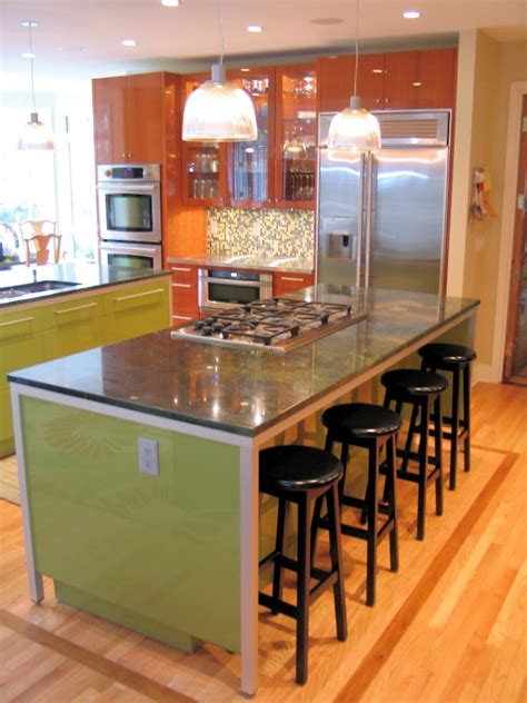 Bar Island For Kitchen Adorable Design Of Kitchen Island With Bar Seating Homesfeed
