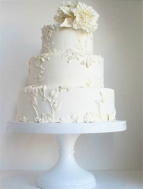All Wedding Cakes by All White Wedding Cakes