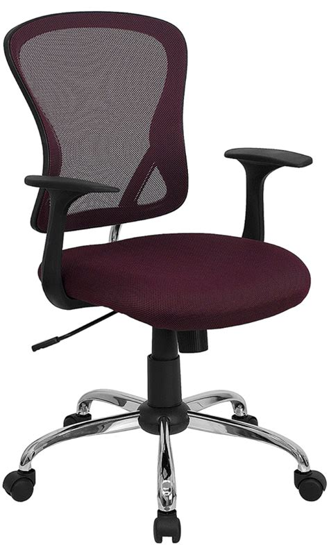 mesh back office chair with lumbar support ergonomic mid back mesh swivel office chair with lumbar