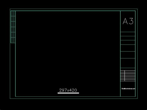 autocad layout template a4 autocad a3 drawing frame autocad drawing autocad dwg and