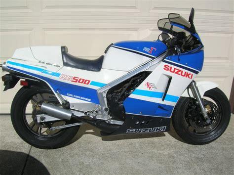 Suzuki Gamma 500 For Sale Clean Ex Rick Lance 1986 Suzuki Rg500γ For Sale