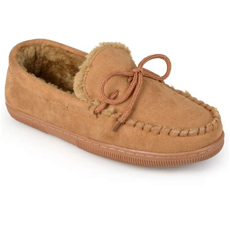 comfortable moccasins pindari mens faux suede moccasin slippers soft cotton